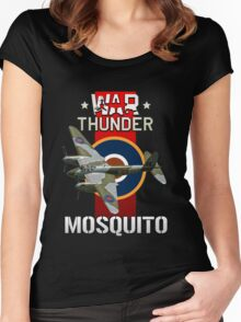War Thunder Mosquito Women's Fitted Scoop T-Shirt