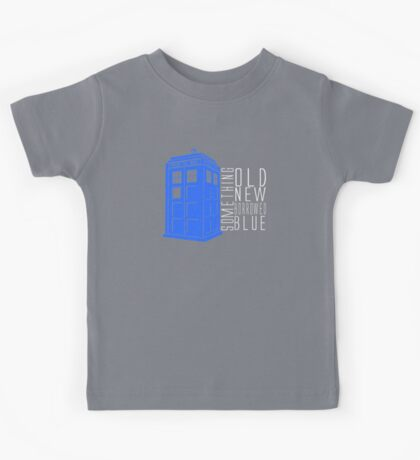 Something Blue Kids Tee