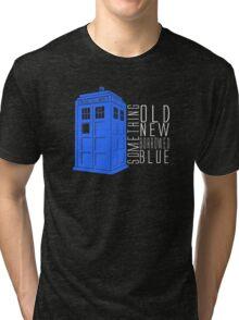 Something Blue Tri-blend T-Shirt