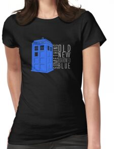Something Blue Womens Fitted T-Shirt