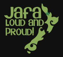 JAFA loud and proud (New Zealand Auckland) One Piece - Short Sleeve