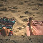Beach Legs by Sarah Mackie