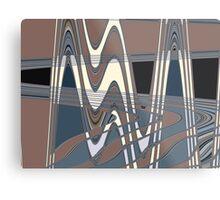 50s pattern Metal Print