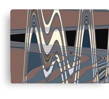 50s pattern Canvas Print