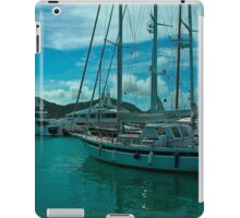 Antiguan Harbour Life iPad Case/Skin