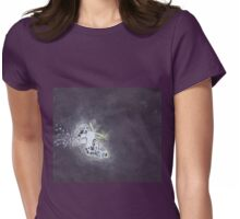 Flight of the moth Womens Fitted T-Shirt