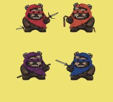TEENAGE MUTANT NINJA EWOKS- battle Kids Clothes