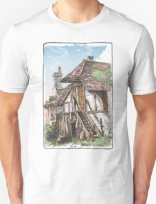 Vintage View of Fable House Unisex T-Shirt