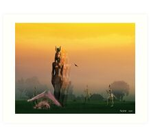 The Daybreak Art Print