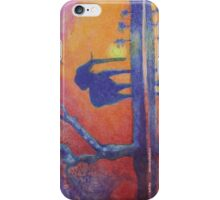 African Landscape with Elephant iPhone Case/Skin