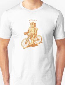 robot on fixie T-Shirt