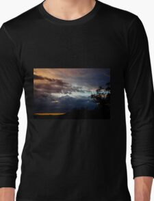 Storm clouds at sunset Long Sleeve T-Shirt