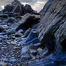 BLUESTONE AT MARLOES SANDS WALES UK by kfbphoto
