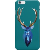 Blue Stag iPhone Case/Skin