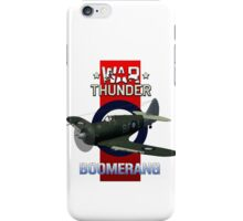 War Thunder Boomerang iPhone Case/Skin