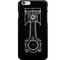 Piston Blueprint iPhone Case/Skin