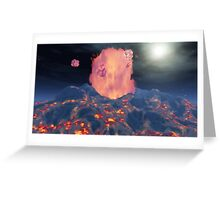Volcan / Volcano Greeting Card
