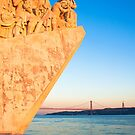 Lisbon . Monument to the Discoveries. Tejo river by terezadelpilar~ art & architecture