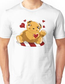 Love Teddy Bear Unisex T-Shirt