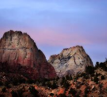 Great White Throne, Zion National Park by Ryan Houston