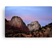 Great White Throne, Zion National Park Canvas Print