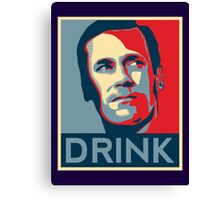 "Don ""Drink"" Poster Canvas Print"