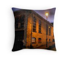 The Old Powerhouse Throw Pillow