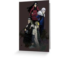 Leaders of the Hidden Leaf Greeting Card