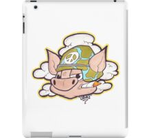 Peace Pig Oink! iPad Case/Skin