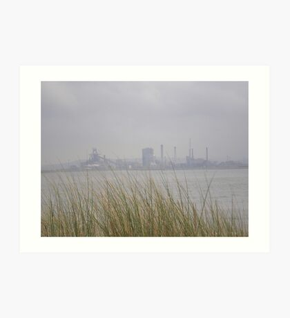 Industry 'v' Nature Art Print