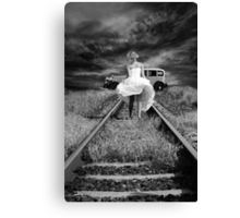 JUST ELOPED! Canvas Print