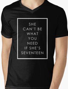 We're Not a Pop Band Mens V-Neck T-Shirt
