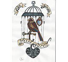 Jailbird Photographic Print