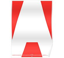 Anarcho Red Poster