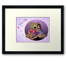 Bear Hug Framed Print