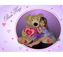 Bear Hug Photographic Print