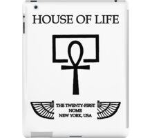 House of Life, New York Nome iPad Case/Skin