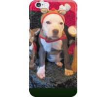 Mee Mee The Blue Nosed Reindeer iPhone Case/Skin