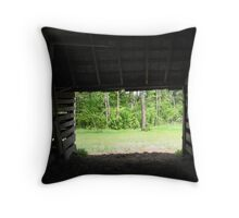 Life Out There Throw Pillow