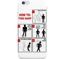 Rocky Horror Picture Show Time Warp iPhone Case/Skin