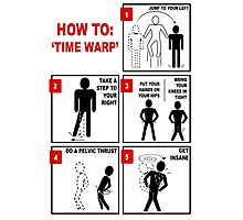 Rocky Horror Picture Show Time Warp Photographic Print