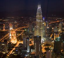 petronas twin towers by macmichael