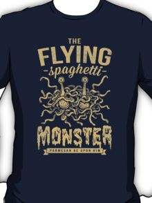 The Flying Spaghetti Monster (dark) T-Shirt