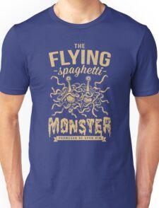 The Flying Spaghetti Monster (dark) Unisex T-Shirt
