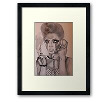 Why don't you love me? Framed Print