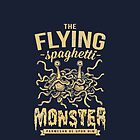 The Flying Spaghetti Monster (dark) by pastafarian