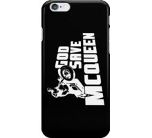 God Save McQueen iPhone Case/Skin