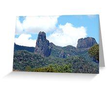 Ancient Times,Warrumbungle Ranges ,Warrumbungles National Park  NSW Australia Greeting Card
