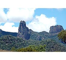 Ancient Times,Warrumbungle Ranges ,Warrumbungles National Park  NSW Australia Photographic Print