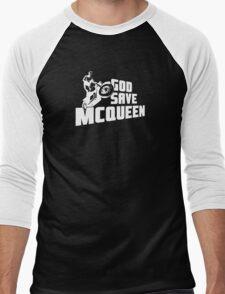 God Save McQueen Men's Baseball ¾ T-Shirt